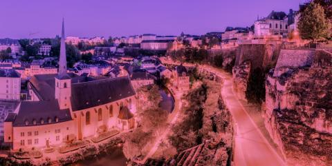 Advento susitikimas ir šv. mišios Liuksemburgo mieste
