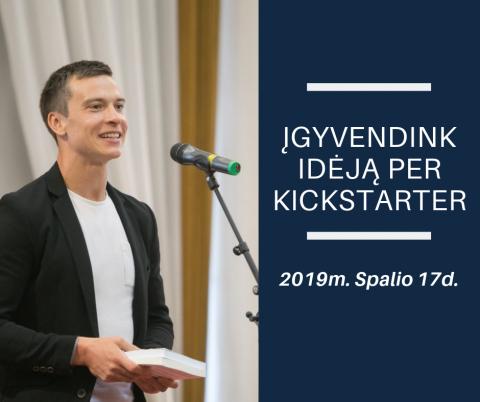"""Susitikimas-diskusija """"Sutelktinio finansavimo platformos ir Savarankiškos knygos leidybos užkulisiai"""""""